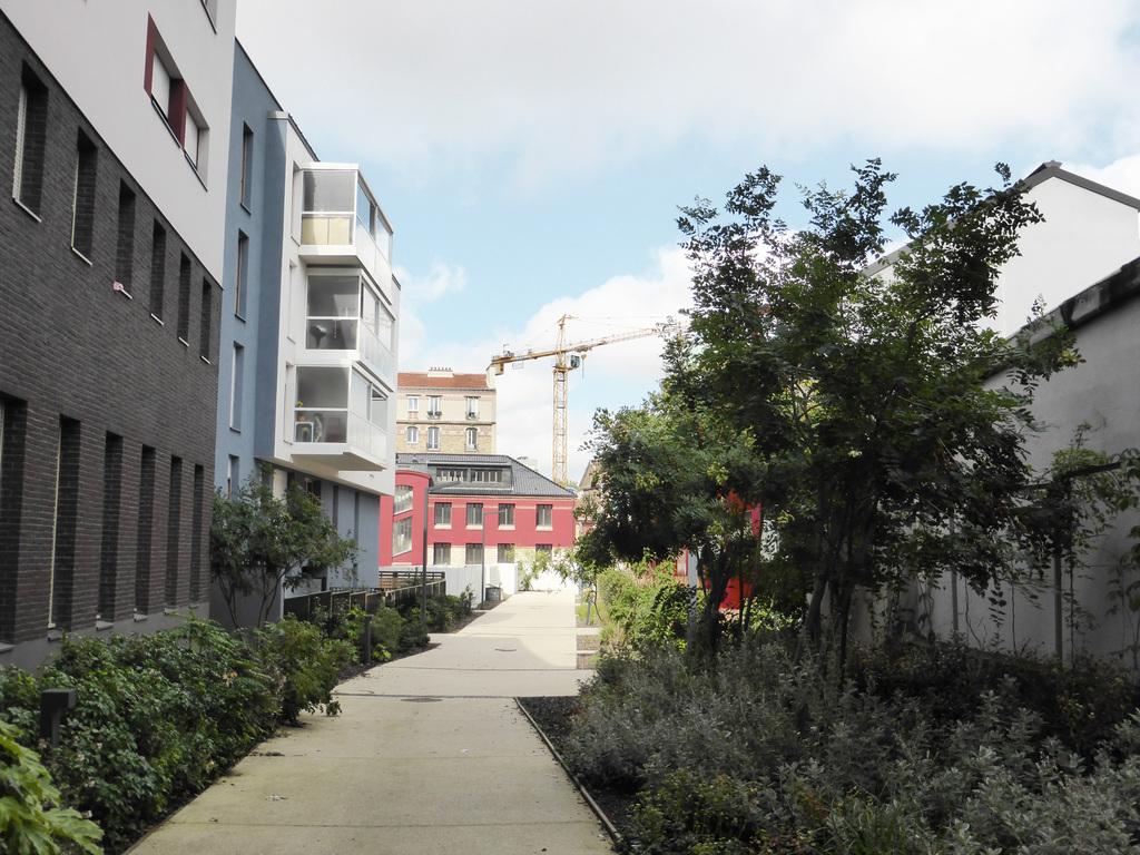 Atelier Alice Tricon / Jardins / Paysages - Les Céramiques<br>opération immobilière - Montreuil (93) - opération immobilière à Montreuil Céramiques Alice Tricon