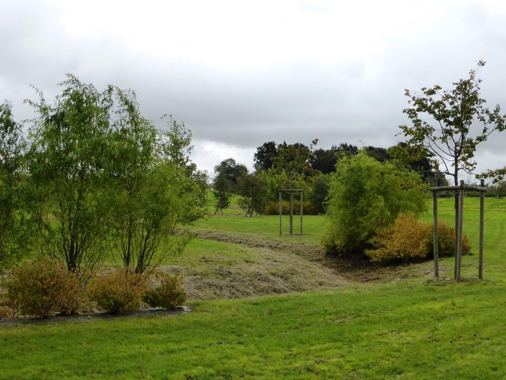 Atelier Alice Tricon / Jardins / Paysages - parc des sports<br>San Sénart - Saint Pierre du Perray (91) - Parc des Sports Saint Pierre du Perray noue serpentine San de Sénart Alice Tricon
