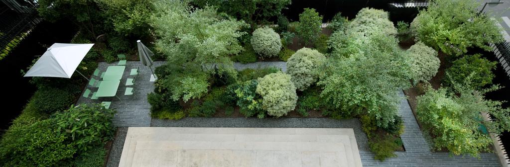 Atelier Alice Tricon / Jardins / Paysages - Ambassade Irlande - Ambassade d'Irlande (75016) - Vue sur le jardin