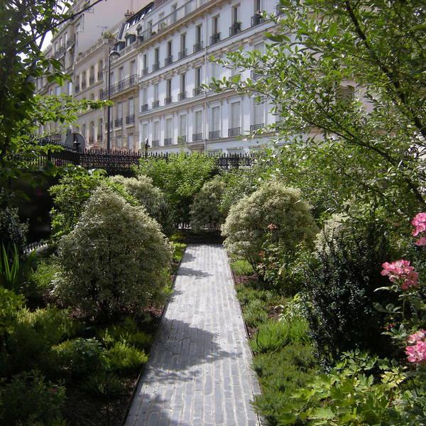 Atelier Alice Tricon / Jardins / Paysages - Ambassade Irlande - Ambassade d'Irlande (75016)