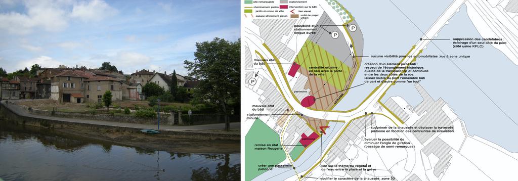 Atelier Alice Tricon / Jardins / Paysages - Aixe Étude - Aixe sur Vienne (87) - Place des Horteils