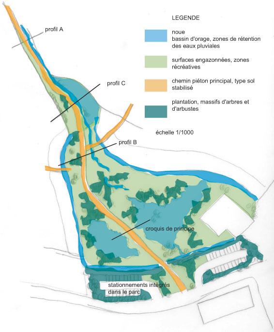 Atelier Alice Tricon / Jardins / Paysages - Montereau - Montereau Fault Yonne (77) - Plan projet