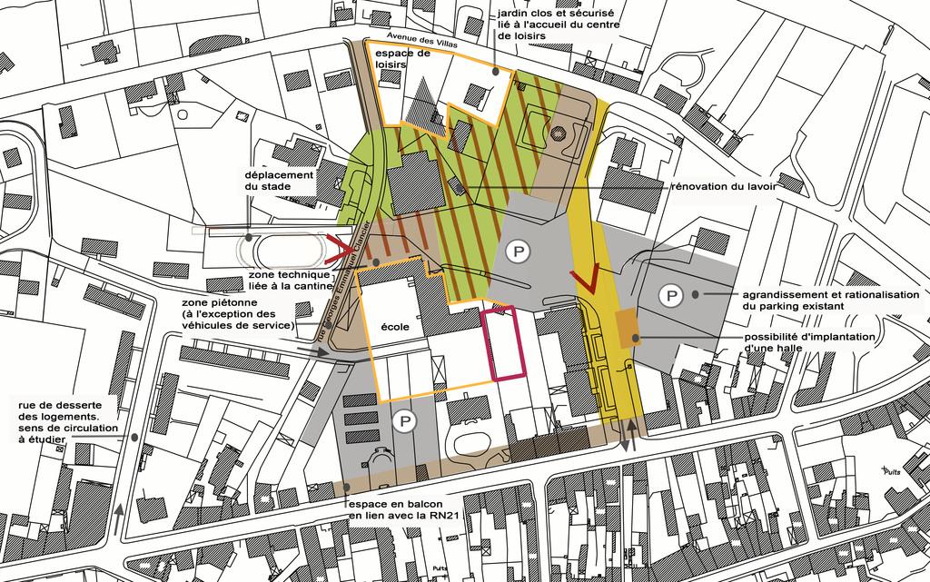 Atelier Alice Tricon / Jardins / Paysages - Aixe Étude - Aixe sur Vienne (87) - Orientations