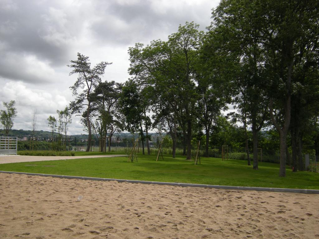 Atelier Alice Tricon / Jardins / Paysages - Vichy - Bellerive-sur-Allier (03) - Plage végétale et beach volley