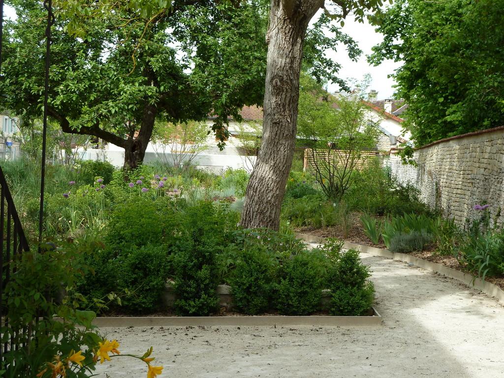 Atelier Alice Tricon / Jardins / Paysages - Renoir - Essoyes (10) - Vue depuis l'atelier