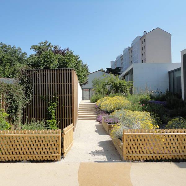 Atelier Alice Tricon / Jardins / Paysages - Maison de la petite enfanceJuvisy-sur-Orge - Juvisy sur Orge (91)