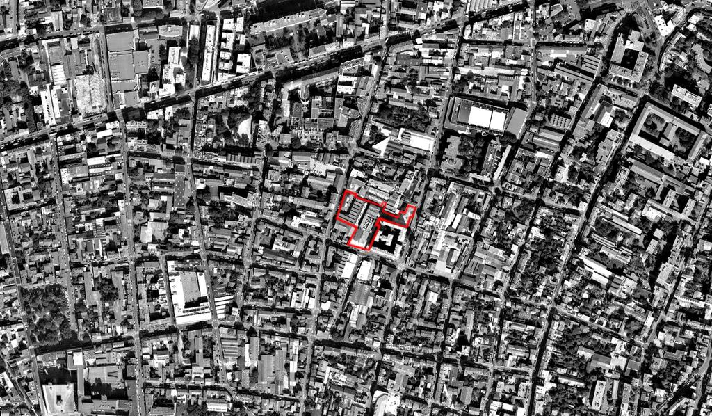 Atelier Alice Tricon / Jardins / Paysages - Les Céramiques<br>opération immobilière - Montreuil (93) - Opération immobilière à Montreuil Céramiques Vue aérienne  Alice Tricon
