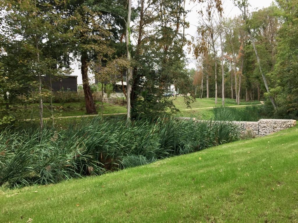 Atelier Alice Tricon / Jardins / Paysages - LES JARDINS DU CHENE ROND - Marcoussis (91) - Le Chêne rond Logements parc arboré ancien marcoussis